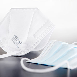 Protective masks from Breuers Verpackungen GmbH